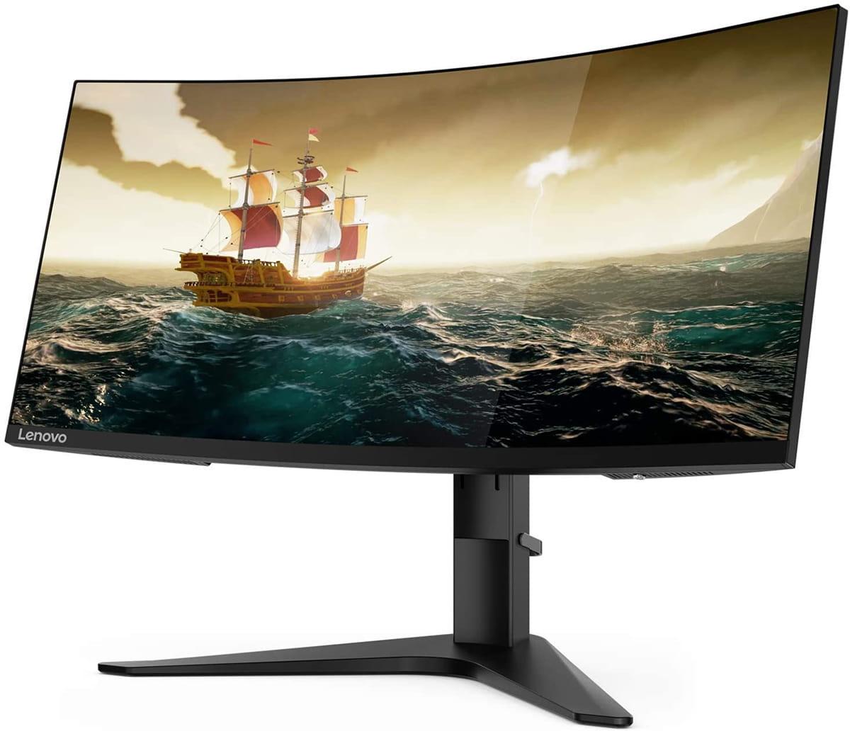 Lenovo Monitor Gaming Curvo