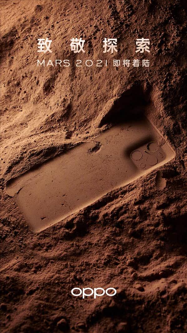 Oppo Find X3 Pro Edição especial Marte