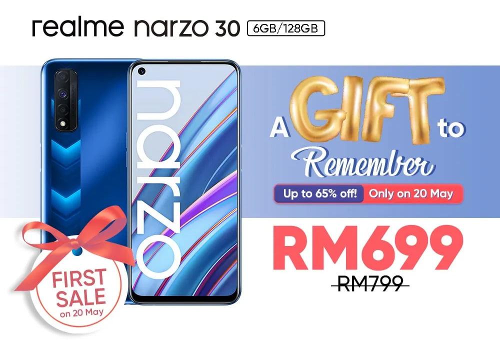 Realme Narzo 30 oficial