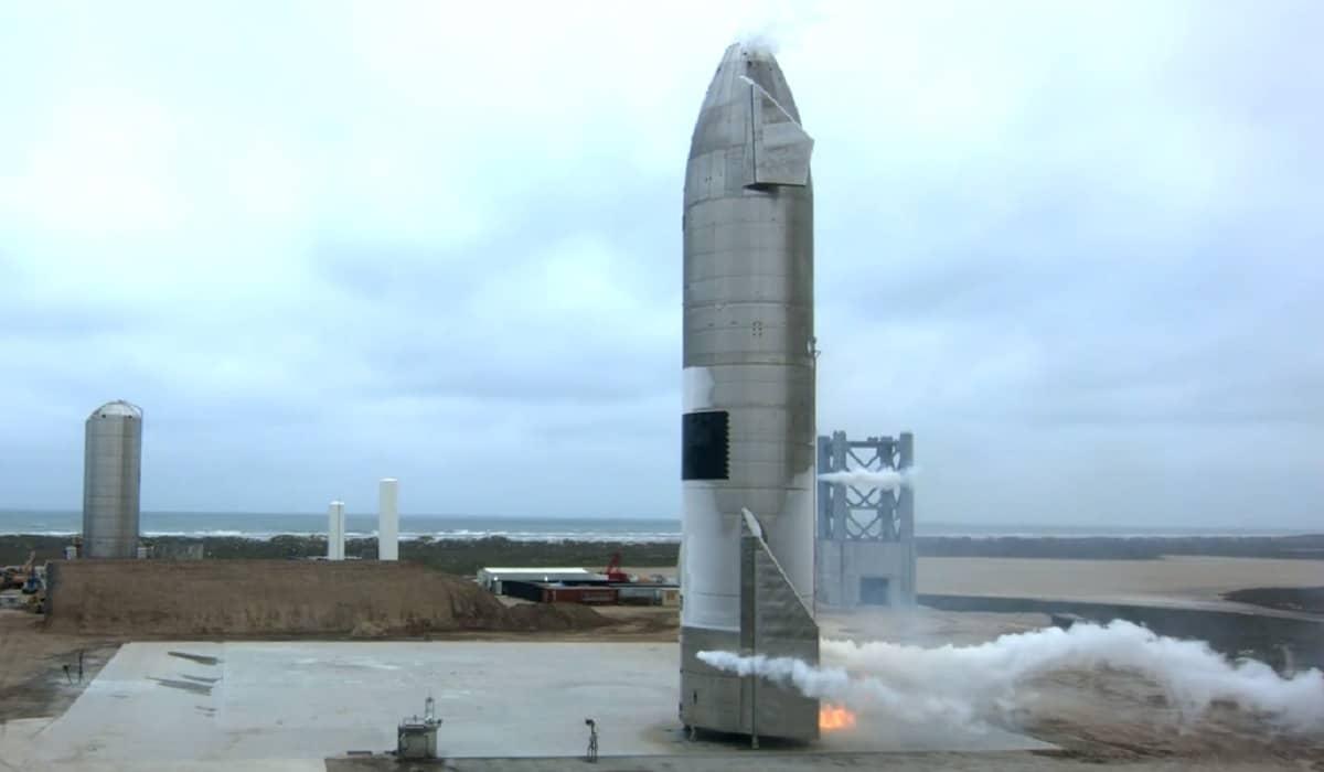 SN15 Starship SpaceX