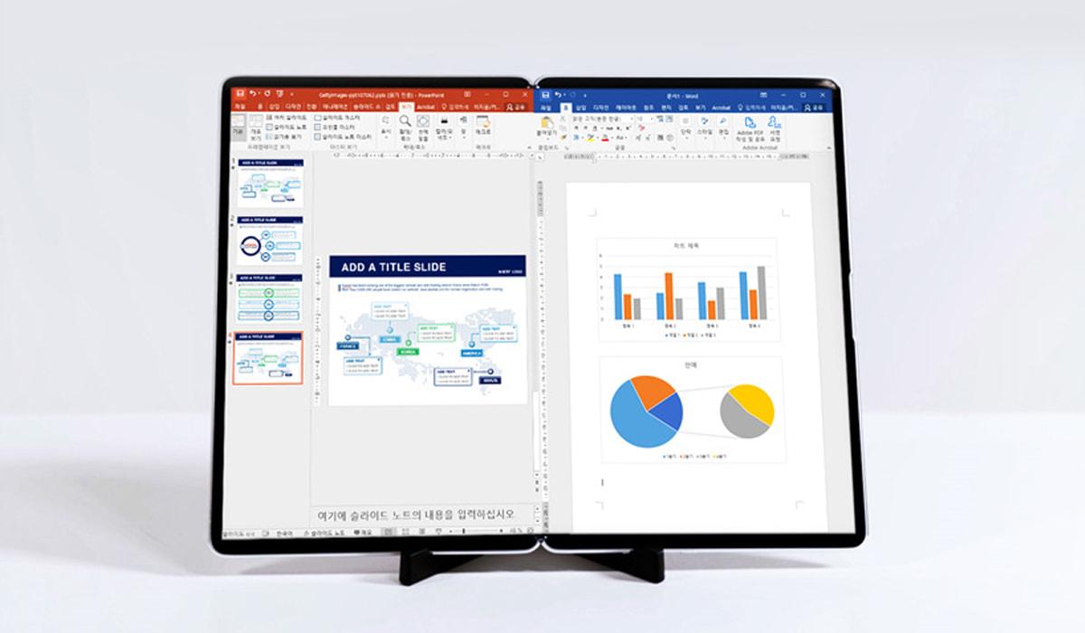 Samsung Ecrã Dobrável Tablet