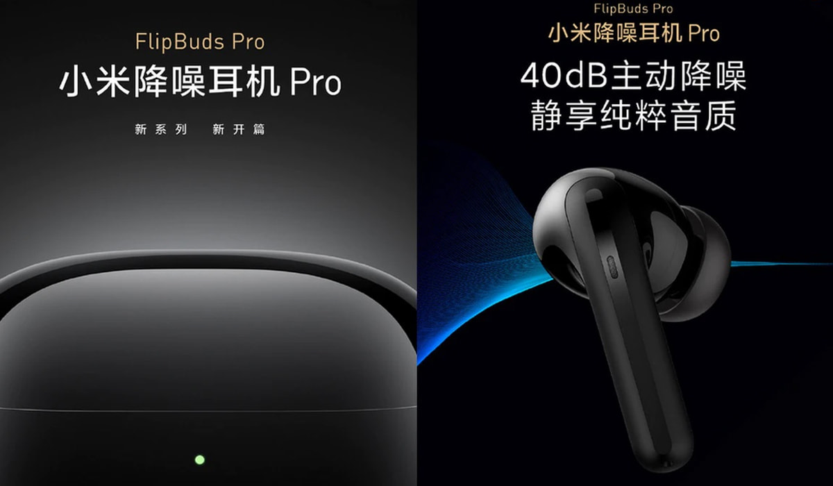 Xiaomi FlipBuds Pro auriculares sem fios