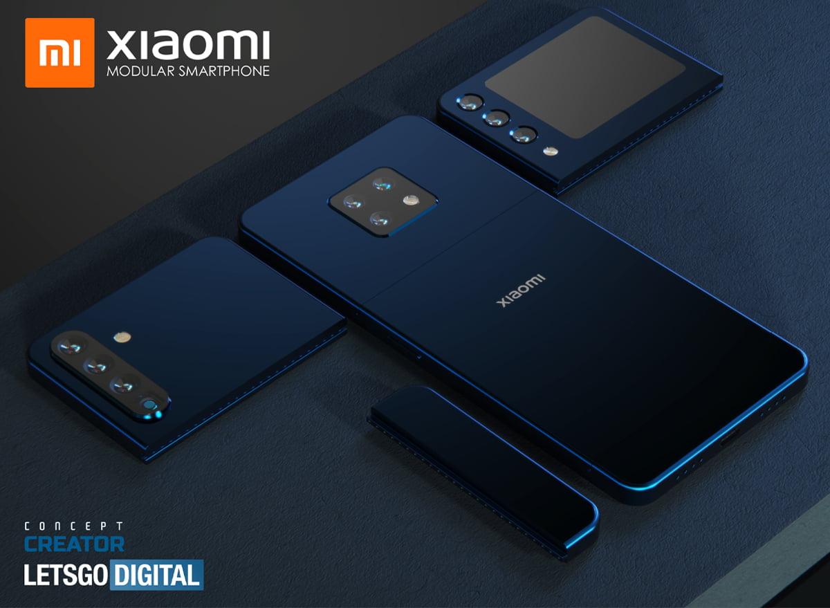Xiaomi Smartphones Modulares Patente