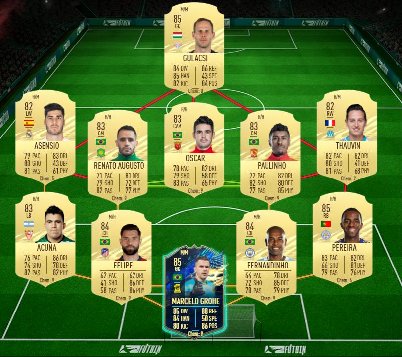 FIFA 21 Ultimate Team Pepe TOTS SBC