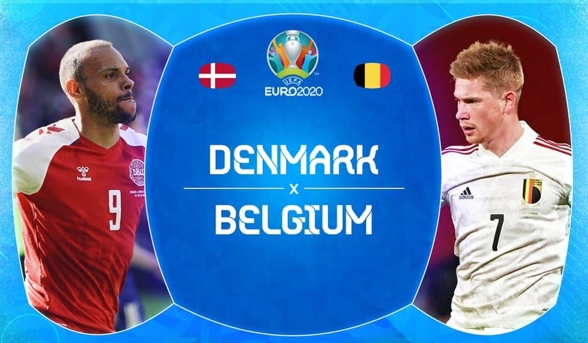 Dinamarca Bélgica EURO 2020 grátis Portugal