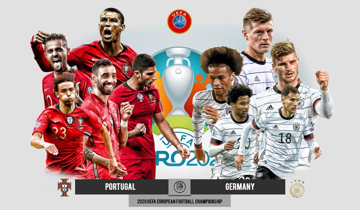 EURO 2020 Portugal Alemanha