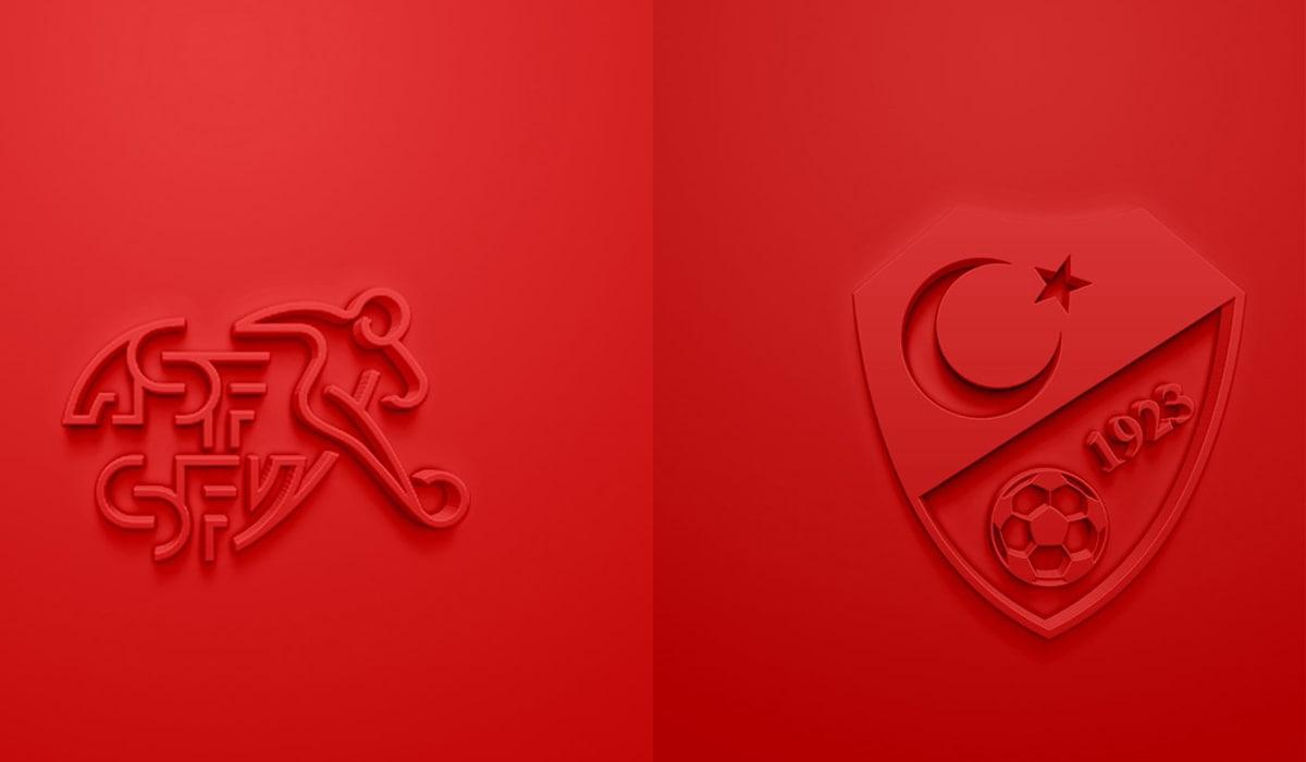 EURO 2020 Suíça v Turquia