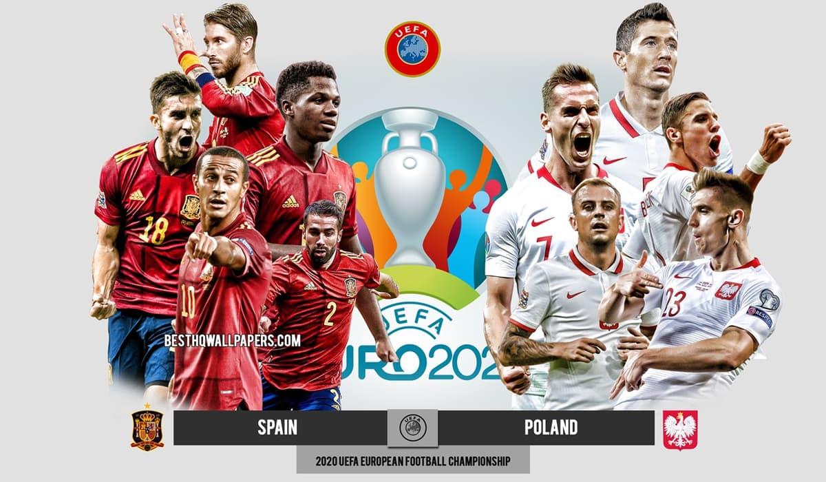 Espanha Polónia EURO 2020