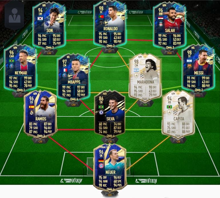 FIFA 21 Ultimate Team Pelé