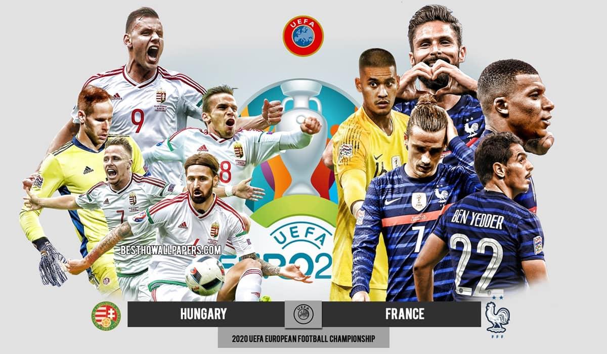 Hungria França EURO 2020