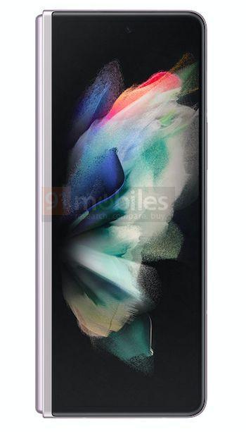 Samsung Galaxy Z Fold3 Gradiente Branco Rosa 7 cores, design, leak, Samsung, Samsung Galaxy Z Fold3, smartphone dobrável