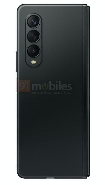 Samsung Galaxy Z Fold3 Preto 5 cores, design, leak, Samsung, Samsung Galaxy Z Fold3, smartphone dobrável