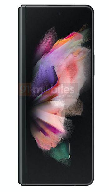 Samsung Galaxy Z Fold3 Preto 8 cores, design, leak, Samsung, Samsung Galaxy Z Fold3, smartphone dobrável