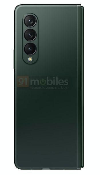 Samsung Galaxy Z Fold3 Verde Matte