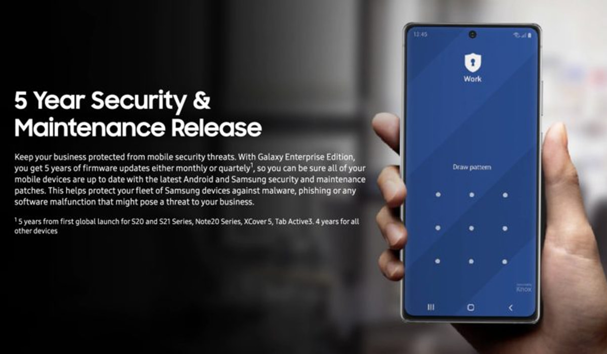 Samsung-Updates für 5 Jahre