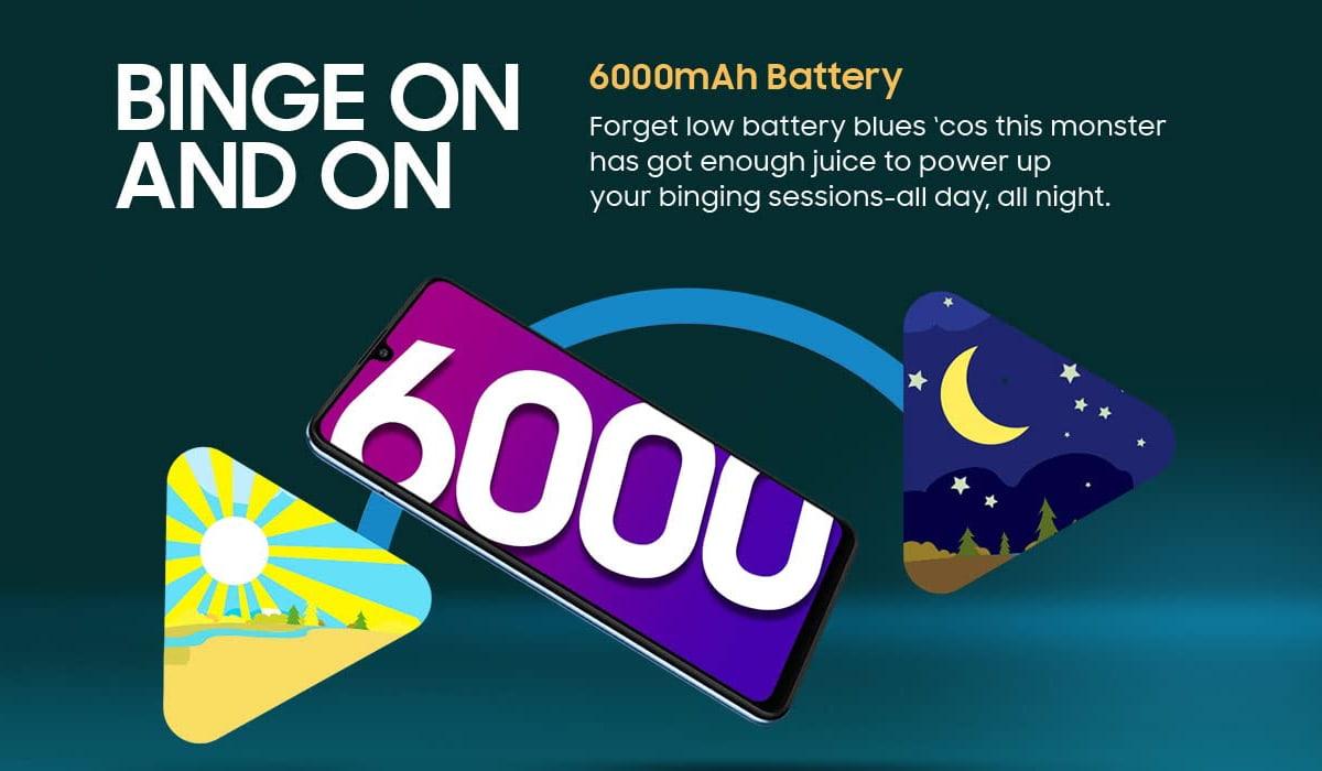 Samsung Galaxy M32 bateria