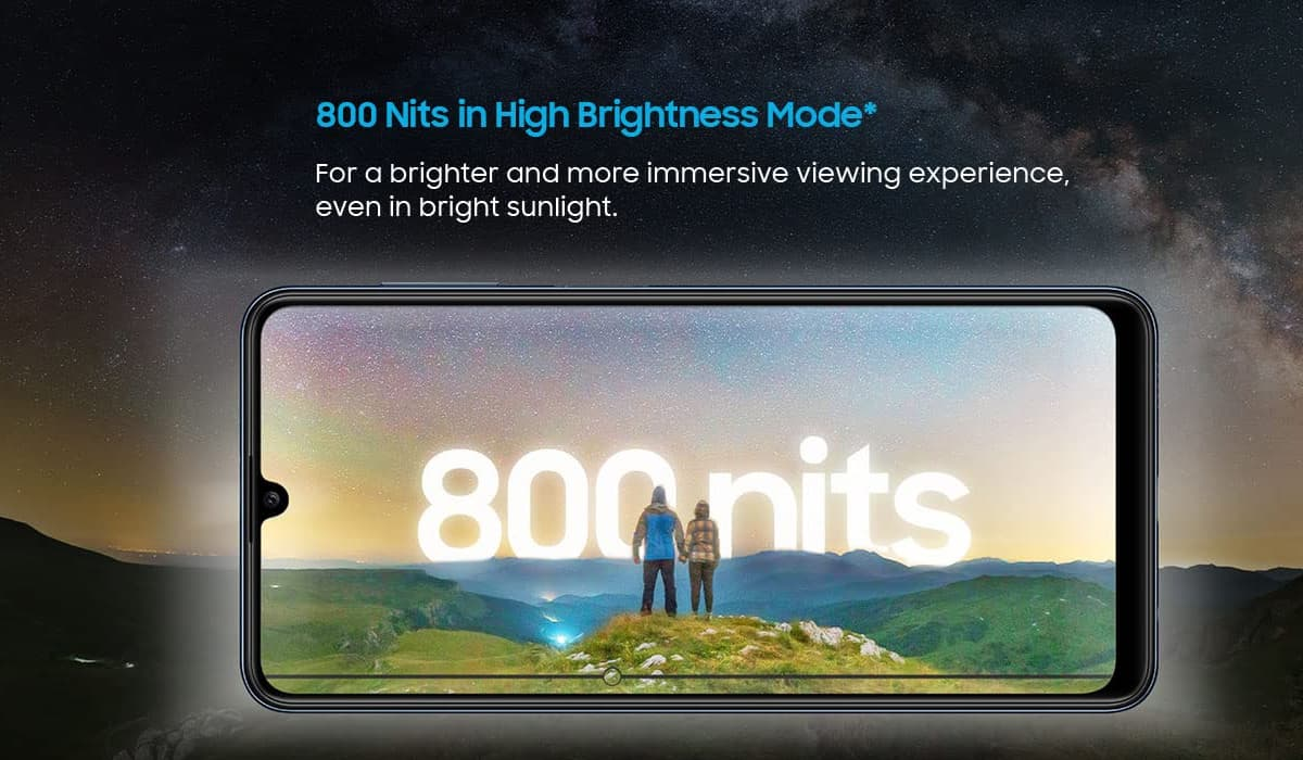 Samsung Galaxy M32 ecrã