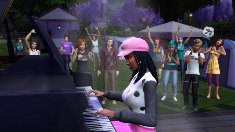 the sims 4 sims sessions festival de musica