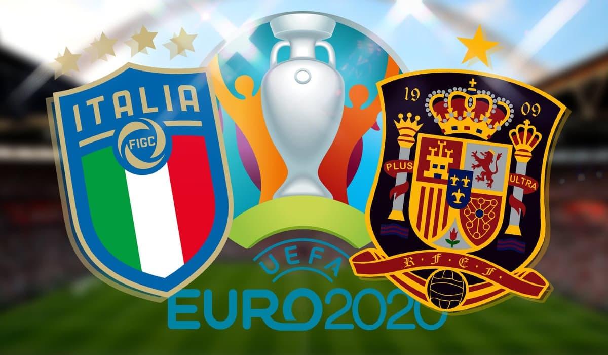 EURO 2020 Itália Espanha