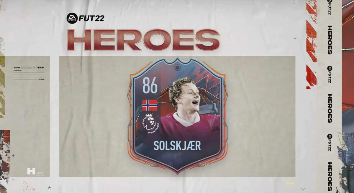 FIFA 22 FUT Heroes Solskjaer