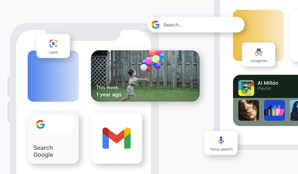 Google Fotos Widget Android