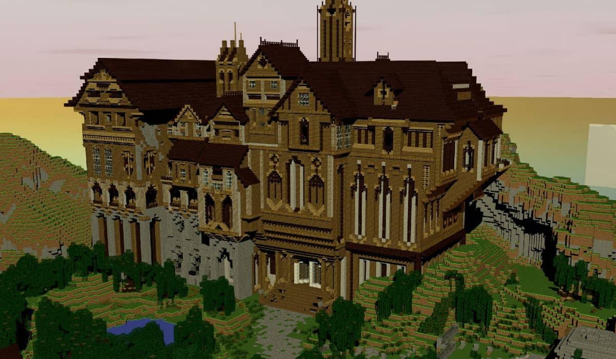 Herobrines Mansion Mapa Minecraft Aventura