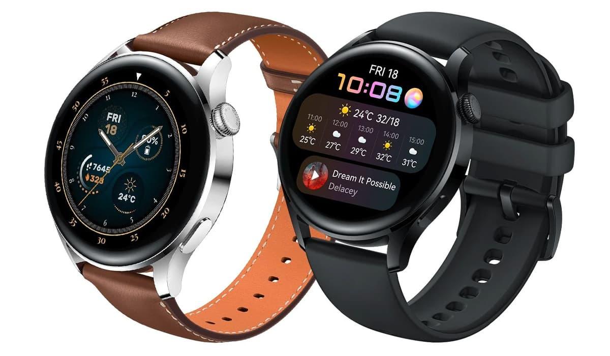 Huawei Watch 3 Pro Petal Maps