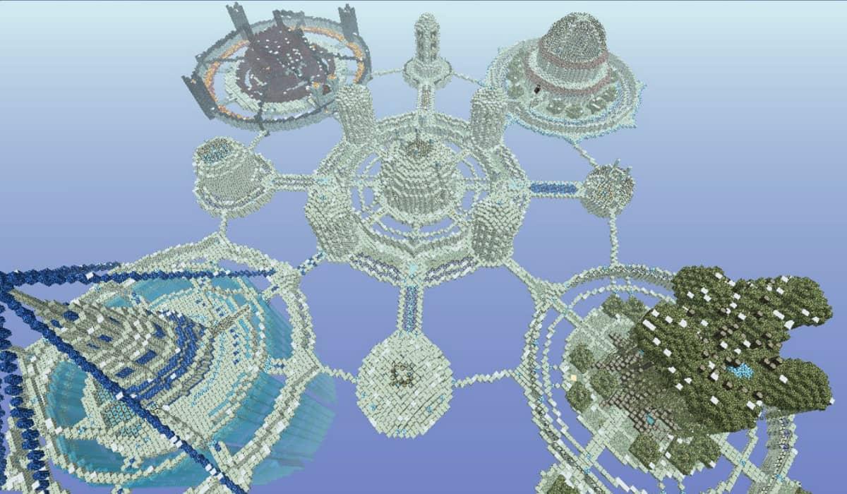 Kingdom of the Sky Mapa Minecraft Aventura