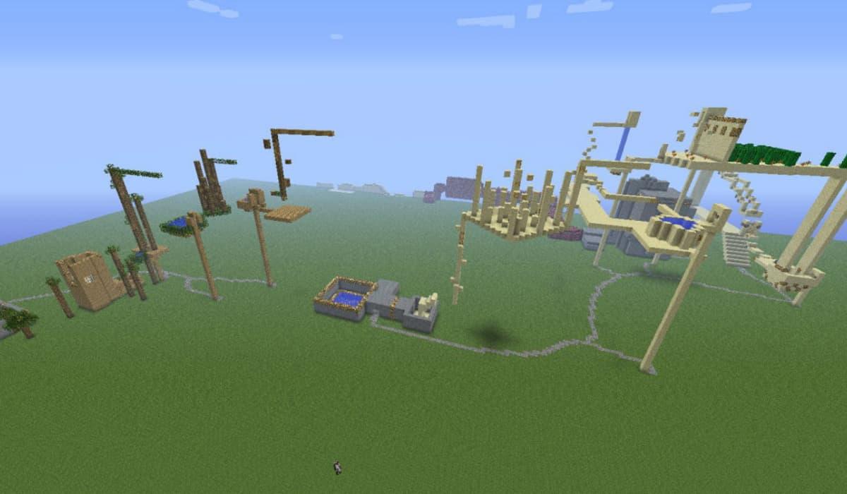 Last Jump Hero Mapa Minecraft Aventura