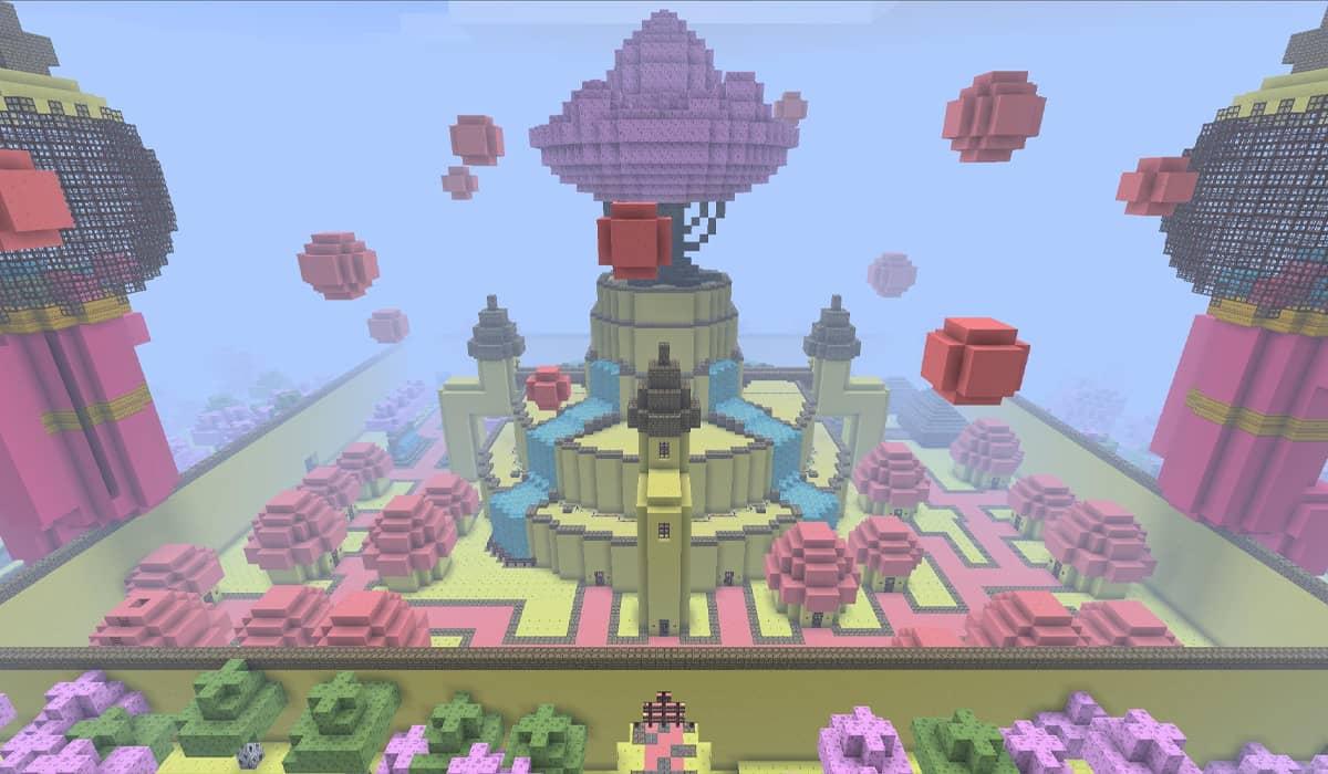 Mapa Minecraft Aventura Adventure Time