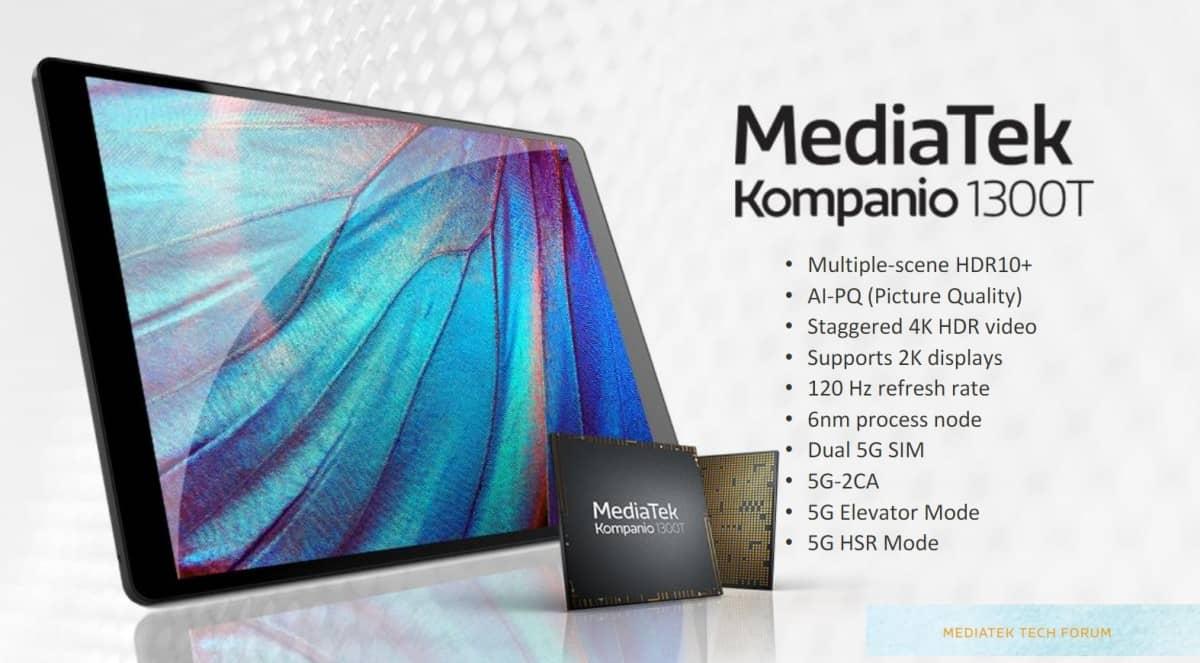 MediaTek Kompanio 1300t computadores, MediaTek, MediaTek Kompanio 1300T, mobile, processador, tablets, tecnologia
