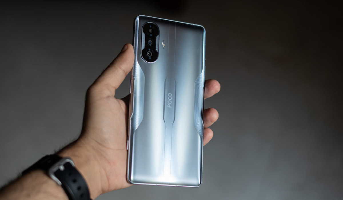 Xiaomi POCO F3 GT smartphone gaming