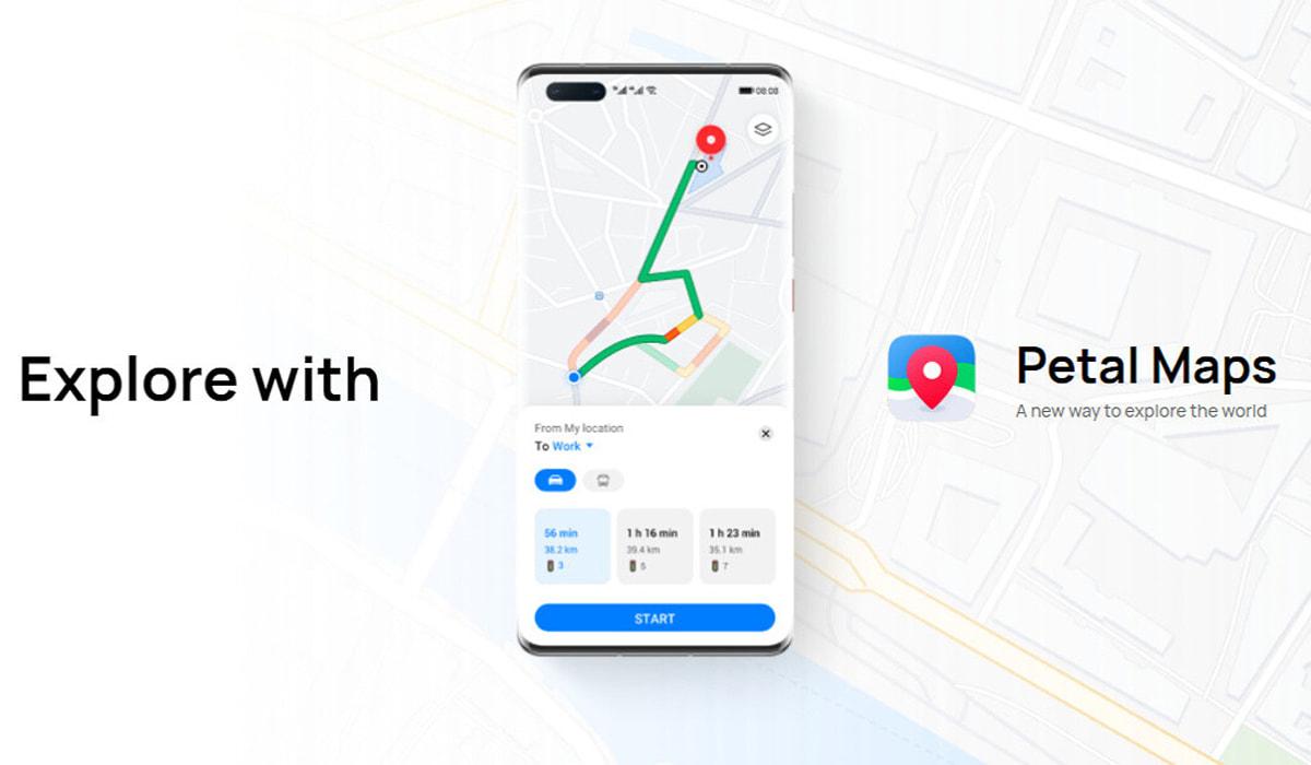 Petal Maps Huawei Google Maps