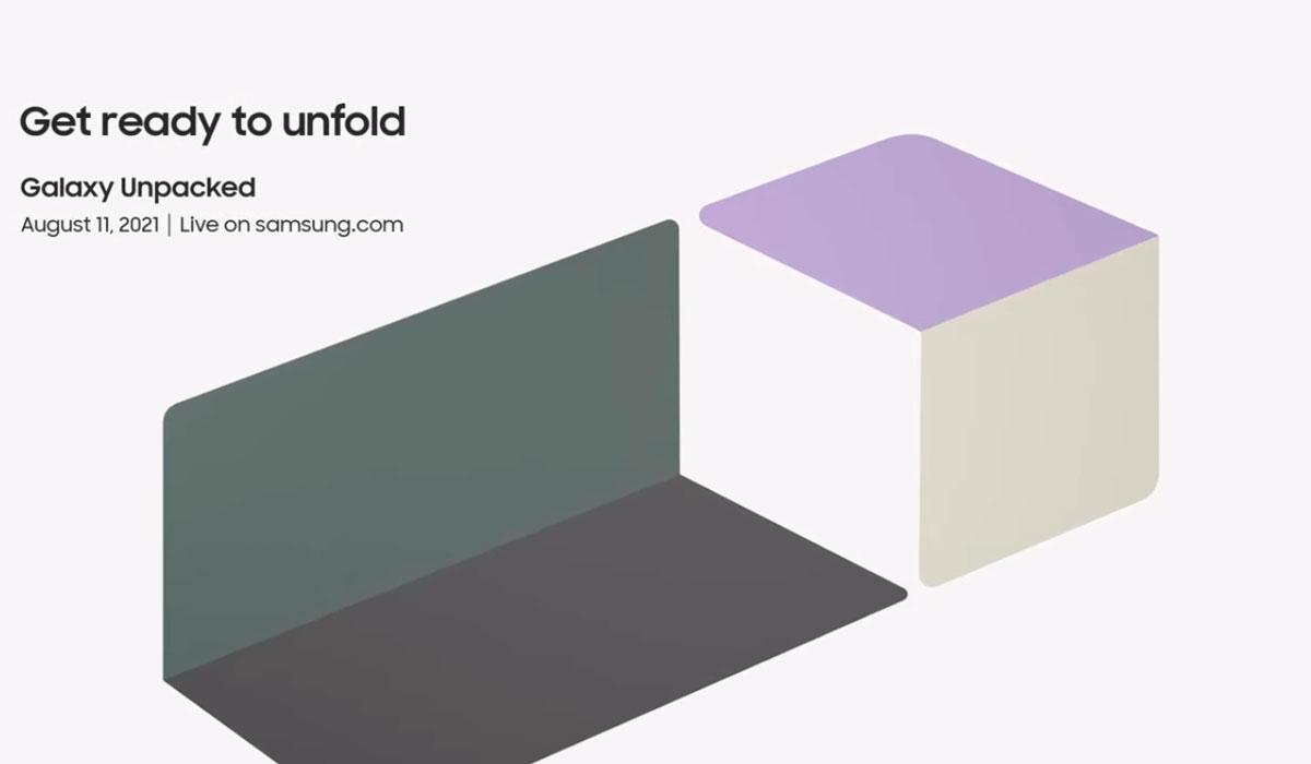 Samsung Galaxy Unpacked unfold