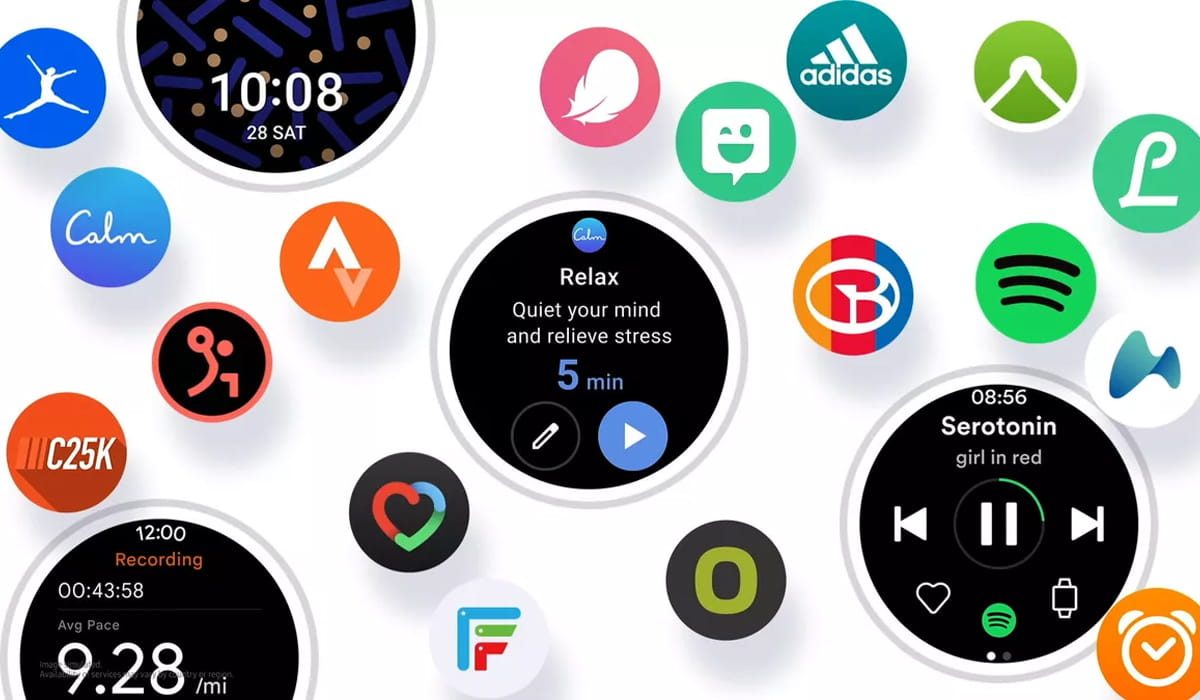 Smartwatch Wear OS 3