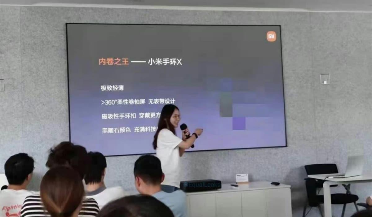 Xiaomi Mi Band X