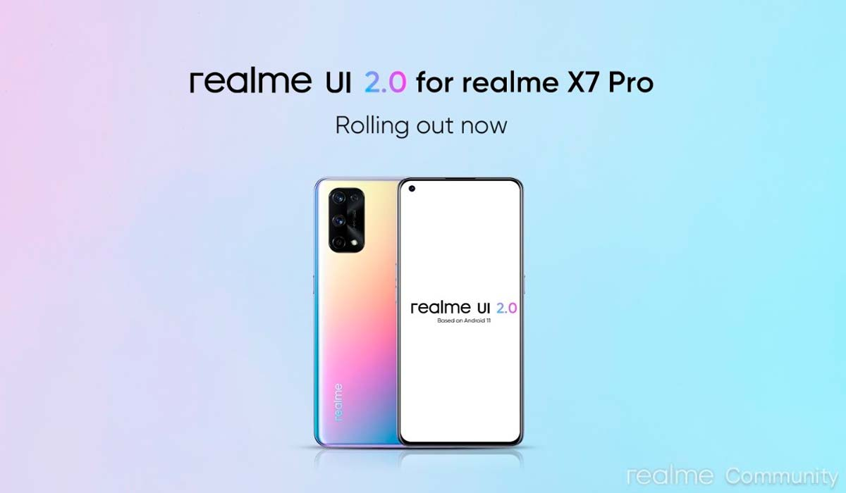 Realme X7 Pro, Android 11