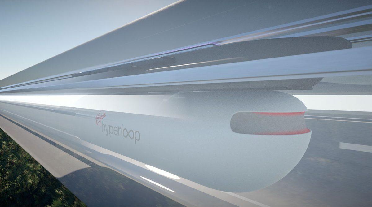 O incrível hiperloop da Virgin