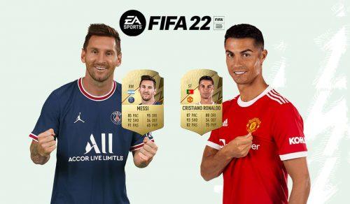 FIFA 22 Cristiano Ronaldo Messi