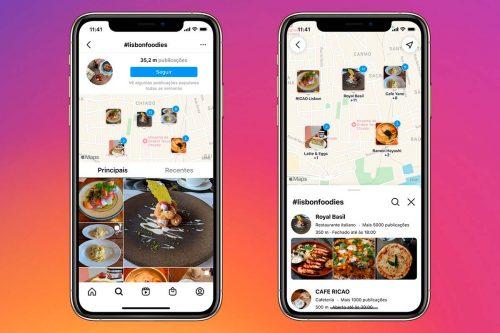 Pesquisa no Mapa: Instagram lança nova ferramenta em Portugal