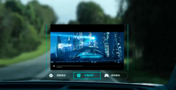 Huawei AR-HUD: Info-entretenimento sobre rodas
