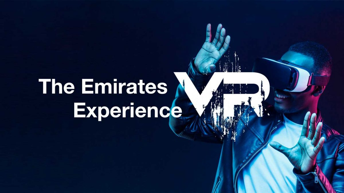 Emirates é a primeira a lançar a Realidade Virtual na aviação