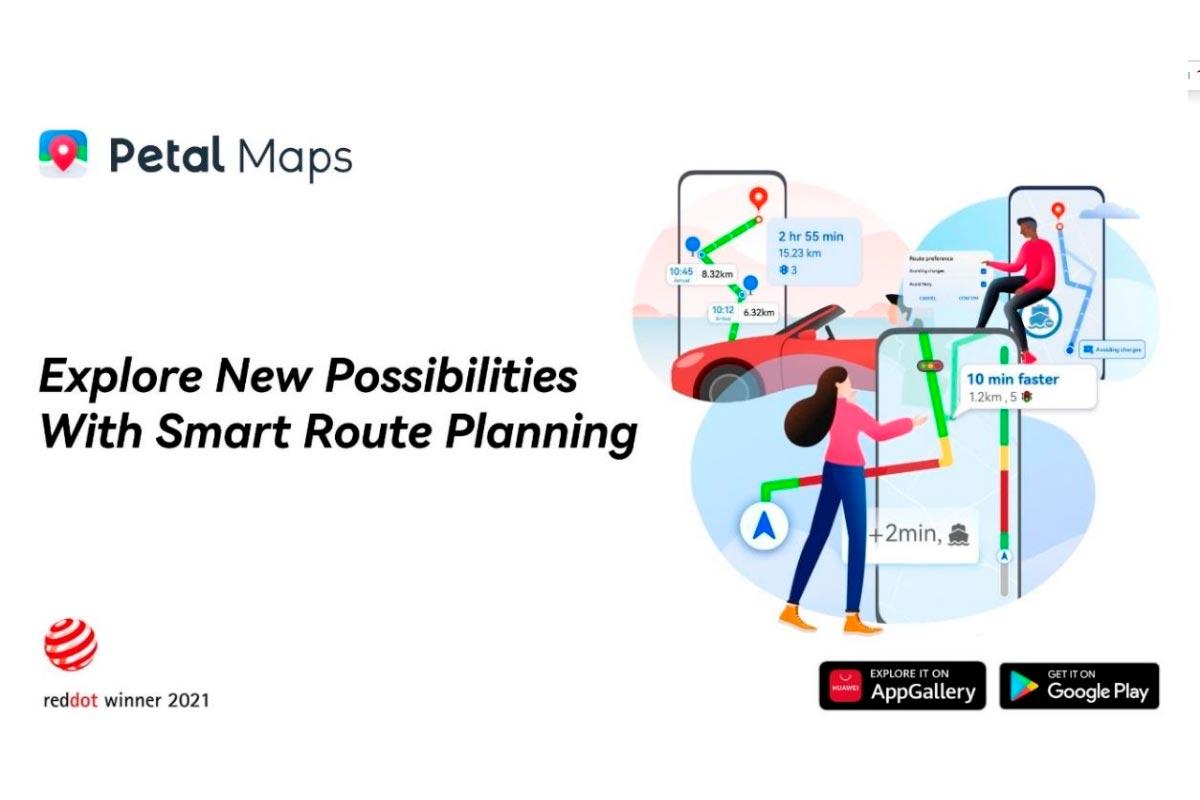 Huawei Petal Maps vence Red Dot Design
